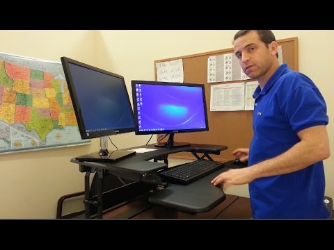 Varidesk Pro Plus Review And First Impression Youtube
