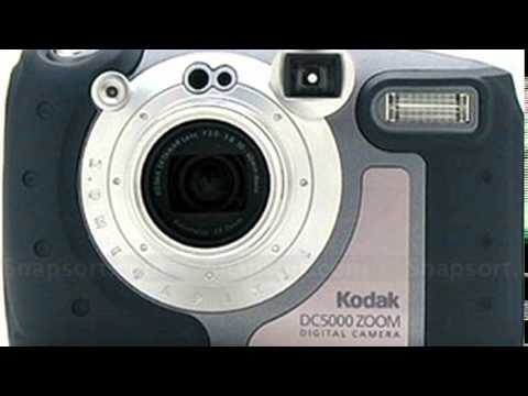 Kodak DC5000 Zoom Digital Camera Drivers Windows XP