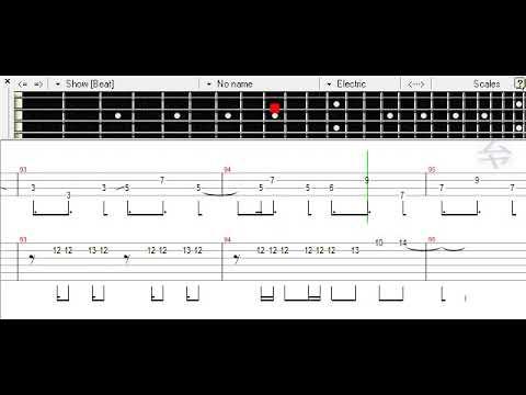 Melty Land Nightmare - Harumaki Gohan Ft. Hatsune Miku Bass TAB