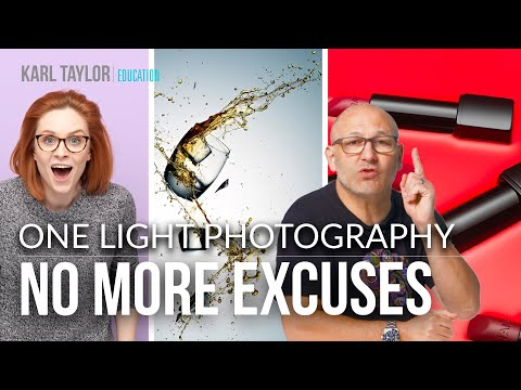 NO MORE EXCUSES! Professional One Light Photography 📸 from YouTube · Duration:  10 minutes 42 seconds
