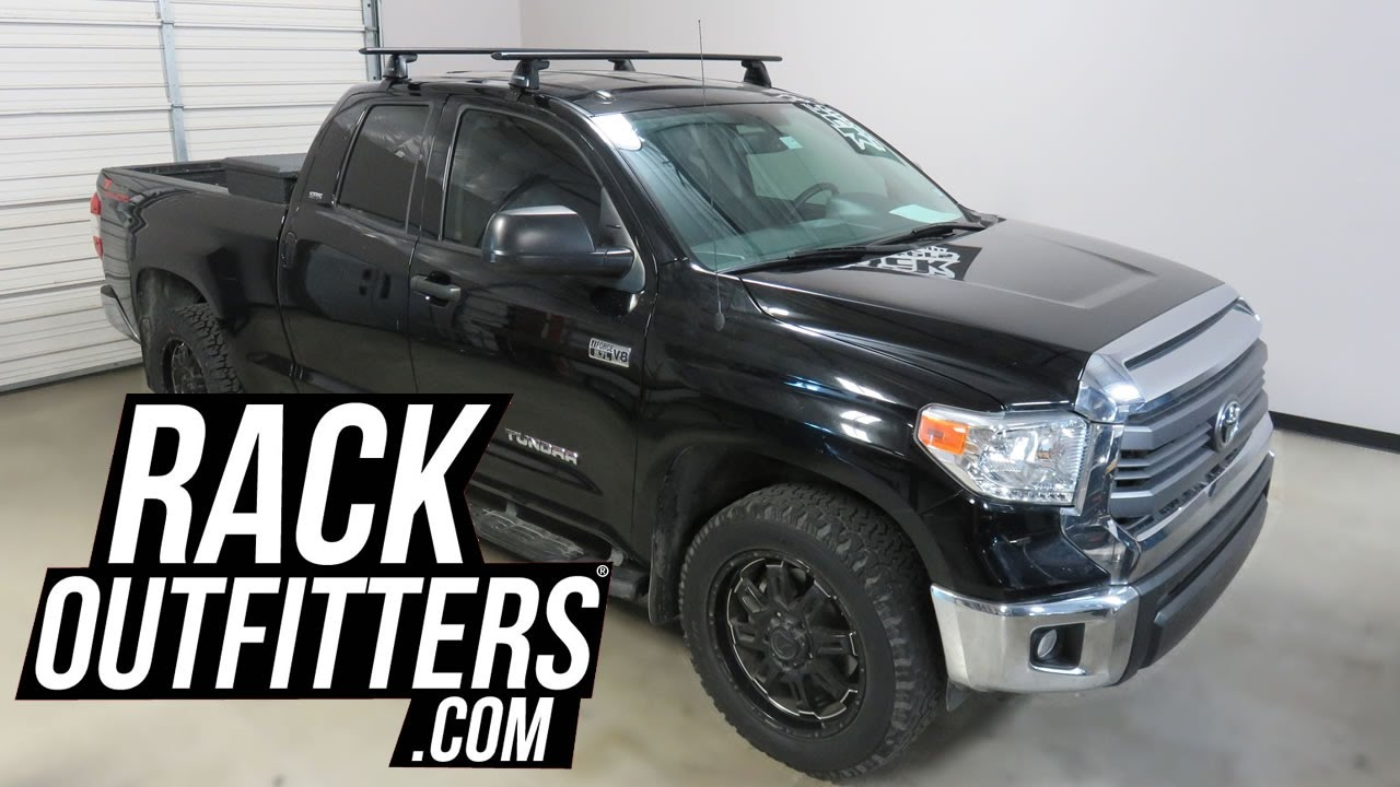 Toyota Tundra Double Cab with Yakima BaseLine Jetstream