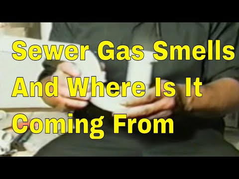 Sewer Gas Smells