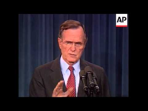 President-George-H.W.-Bush-holds-a-press-conference-to-announce-his-plans-to-resolve-the-Savings-and