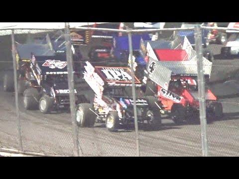 360 Sprints MAIN 6–25-17 Petaluma Speedway