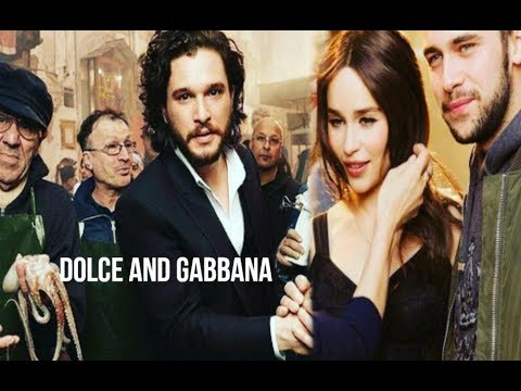Kit The 2017 Harington Hd Gabbana Emilia Clarke Dolce And One ARLc35j4q
