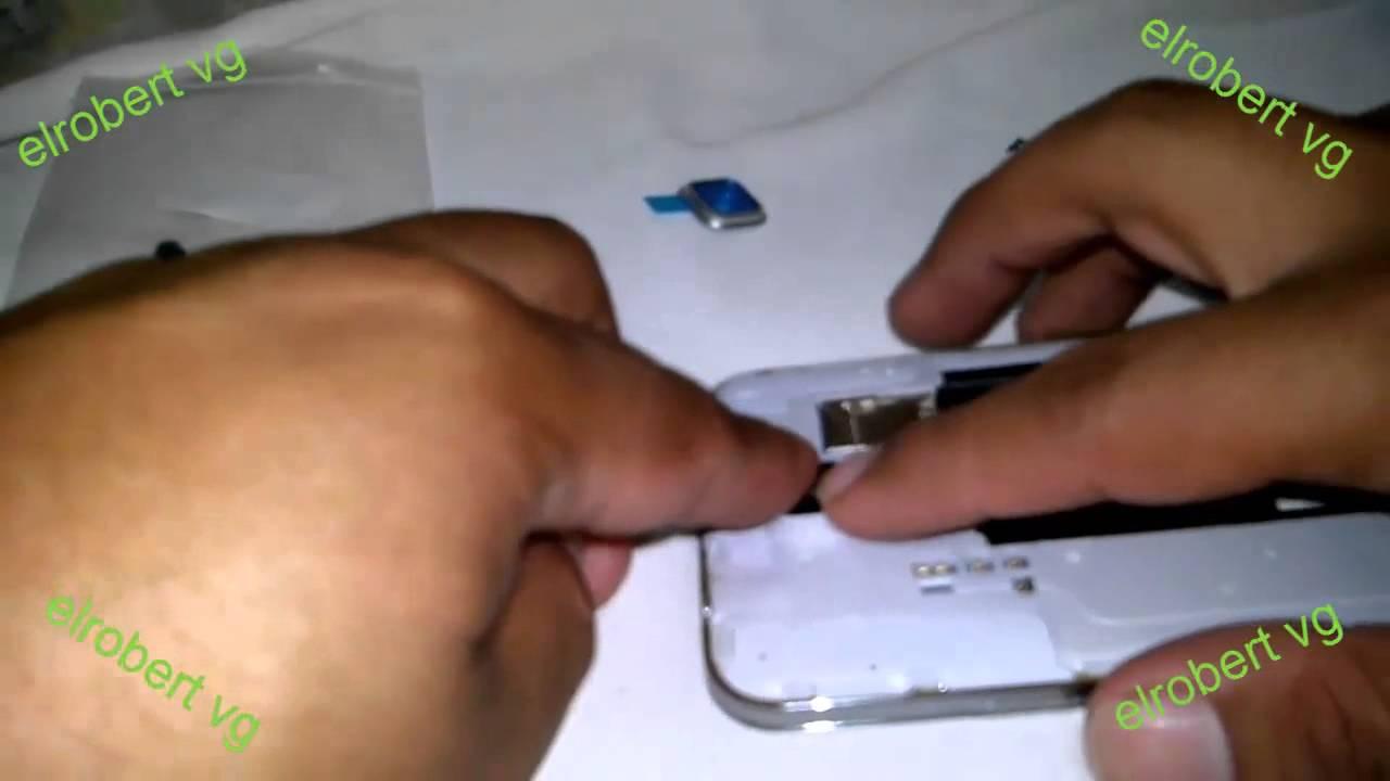 cambiar cristal de cámara galaxy s5 muy fácil de hacer - YouTube