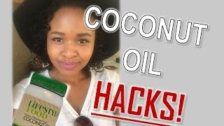 COCONUT OIL USES | HAIR,SKIN &  FACE | South African Vlogger