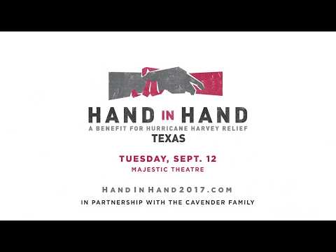 Hand In Hand: A Benefit for Hurricane Harvey Relief
