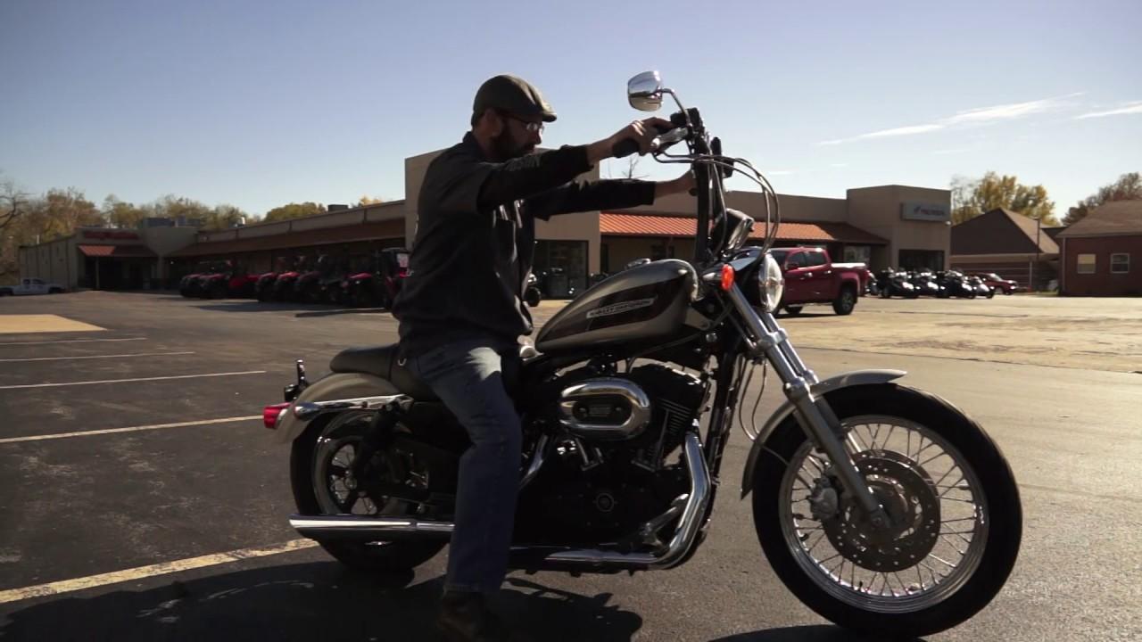 2007 Harley Davidson Sportster Roadster Burly Shocks Blooper Reel