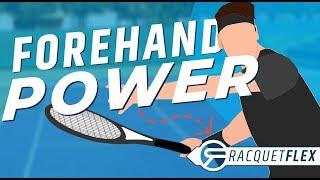 Effortless Forehand POWER: Modern Forehand Leg Drive (Step 2)