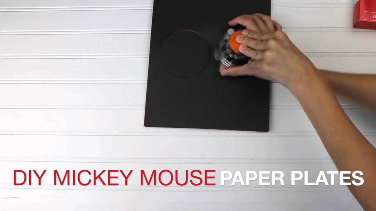 Mickey Mouse Paper Plates & Mickey Mouse Paper Plates - YouTube