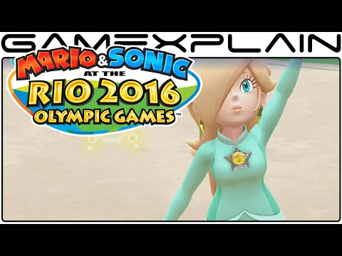 Mario & Sonic at the Rio 2016 Olympic Games - All Rhythmic