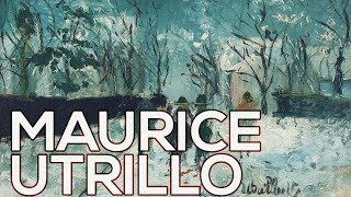 Maurice Utrillo: A collection of 596 works (HD)