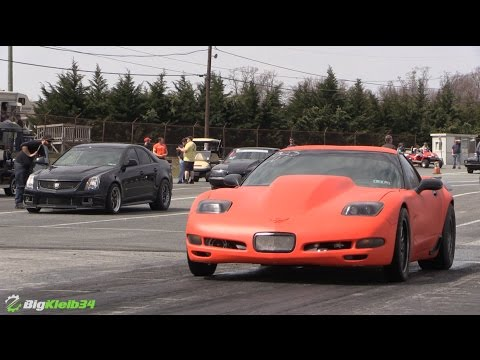 Mean Turbo C5 Z06 Corvette Shakedown Pes
