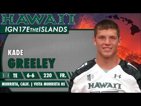 2017 Signing Day Kade Greeley