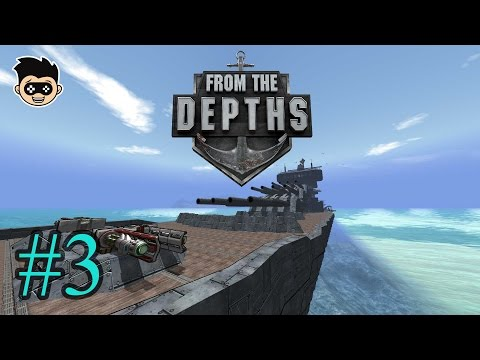 From the Depths episode 3 : Building a Missile Boat