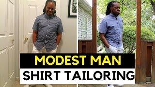 Modest man Shirt Tailoring | Short Man Shirt Tailoring