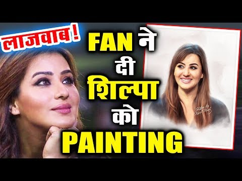 Shilpa Shinde Amazing Painting Sent By Her CRAZY FAN