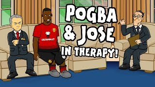 💔Pogba & Mourinho - RELATIONSHIP COUNSELLING!💔 thumbnail