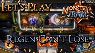 Let's Play Monster Train - Regen Can't Be Beat!