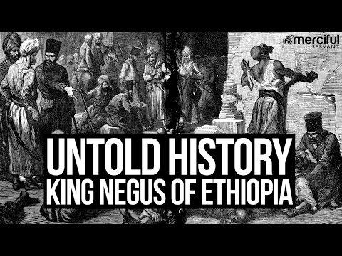 Untold History - King Negus of Ethiopia