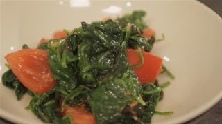 How To Fry Spinach