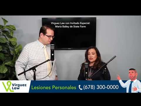 El Abogado Padron entrevista a Maria Bailey de State Farm para hablar sobre pólizas de seguros.