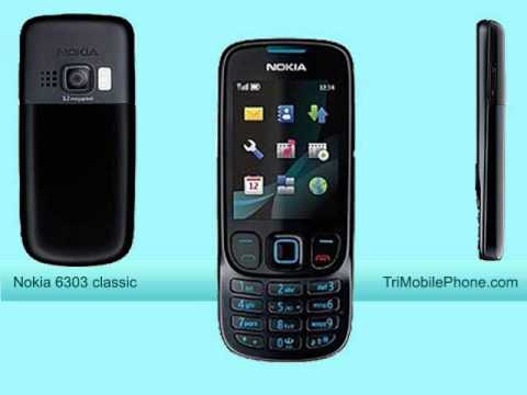 Nokia 6303 classic Mobile Phone Specification, Features and Slide show