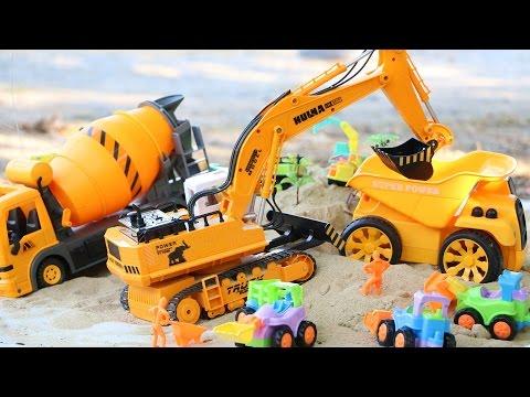 รีวิวของเล่น รถแม็คโคร 11CH หมุนได้ 680 องศา - วีดีโอสำหรับเด็ก