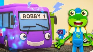 Gecko's Garage - Bobby The Bus | Learning Videos for Toddlers +More Vehicles For Kids