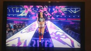 vuclip WWE WrestleMania 30 Divas Champion AJ Lee Entrance