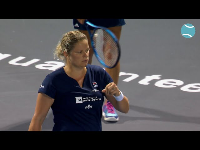 Highlights Kim Clijsters vs. Olga Govortsova 18th of July 2020 | World TeamTennis