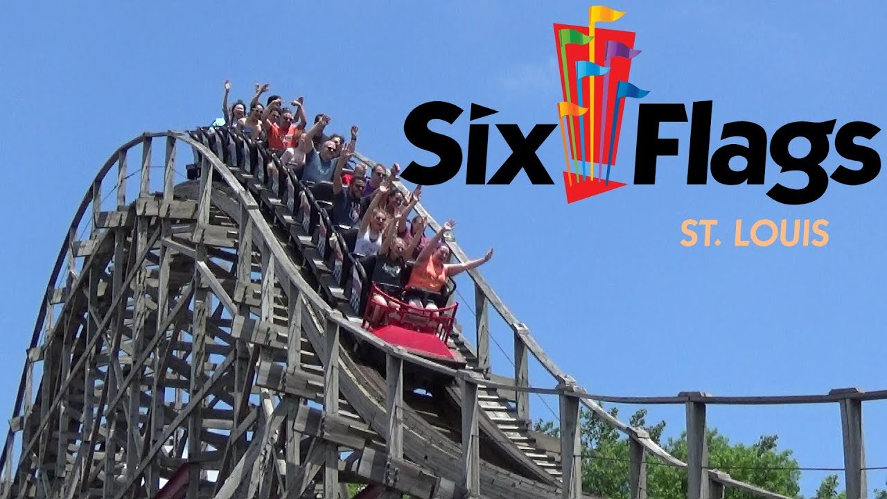 Six Flags St Louis Tour & Review With The Legend - YouTube