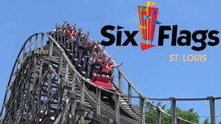 Six Flags St Louis 2018 Tour & Review with The Legend