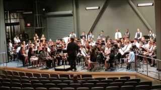 GHCHS Concert Band 2014 @ Centennial HS (audio recording) ...
