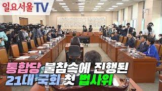 통합당 불참속에 진행된 21대 국회 첫 법사위