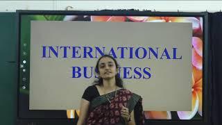 I PUC | BUSINESS STUDIES |International Business - 10