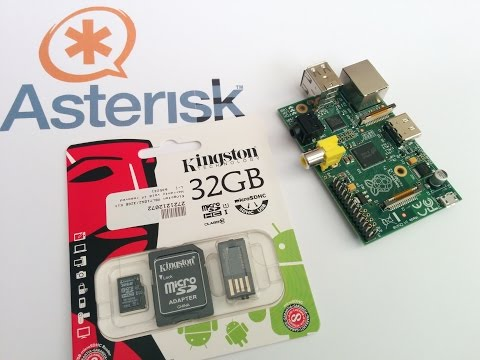 Asterisk PBX on Kingston 32GB SD Card - quick setup - step b