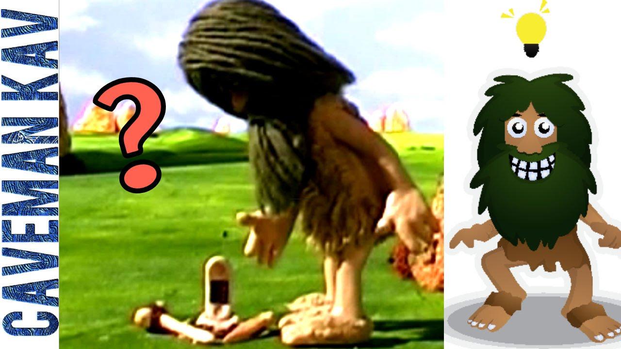 Caveman Phone : Mobile phone a discovery comedy #16 : caveman kav youtube