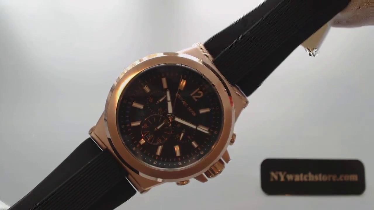 46fa658e3005 Men s Michael Kors Dylan Chronograph Watch MK8184 - YouTube