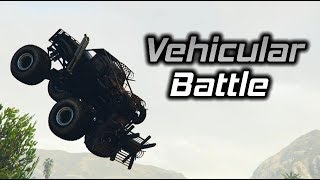 GTA Online: Sasquatch Trickshotting Leads to Vehicular Battle (1/2)