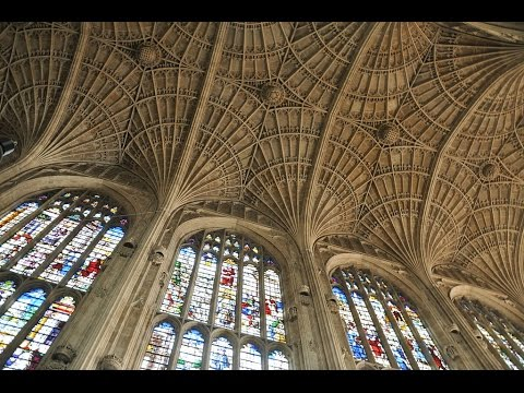 Places to see in ( Cambridge - UK ) King's College Chapel