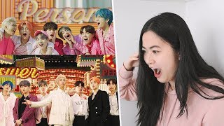 BTS 'Boy With Luv' feat. Halsey Official MV Reaction!   Map Of The Soul: Persona