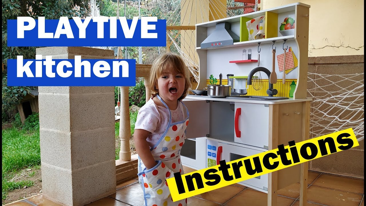 Playtive Küche Playtive Junior Wooden Play Kitchen Instructions Lidl How To Assemble It