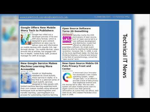 Tech News - Published By An Outsourcing IT Consulting Service Provider