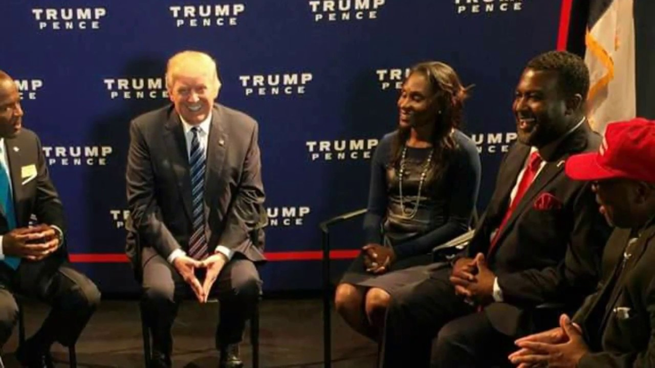 WOW!! Look At What Donald Trump Just Said About Black People!