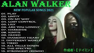 Alan Walker Greatest Hits Full Album    Best Songs Of Alan Walker 2021