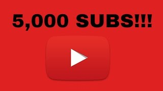5,000 SUBSCRIBERS! | A Full Stop Punctuation Production