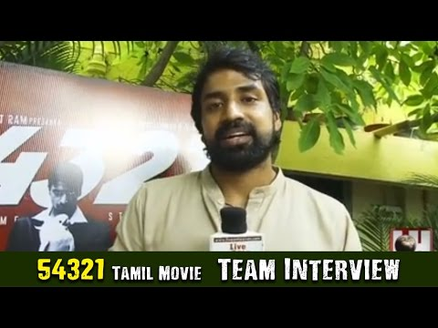 54321 Tamil Movie | Team Interview | Live On Heaven TV
