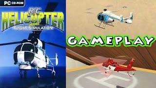 R/C Helicopter Indoor Flight Simulation - Gameplay PC HD